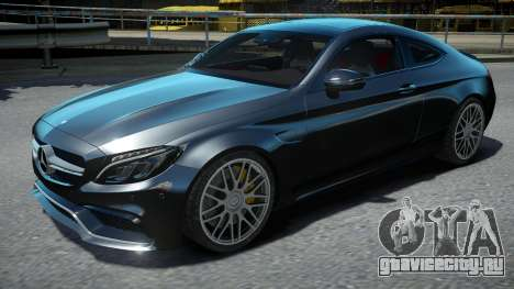 Mercedes-Benz C63S AMG Coupe 2017 для GTA 4