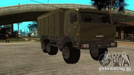 КамАЗ 54115 Военный для GTA San Andreas
