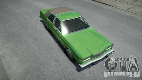 Mercury Grand Marquis LS 1986 для GTA 4