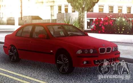 BMW E39 Stock для GTA San Andreas