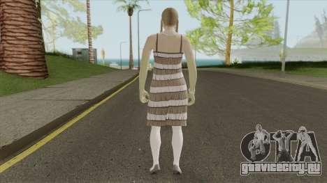 Female Random Skin 2 From GTA V Online для GTA San Andreas