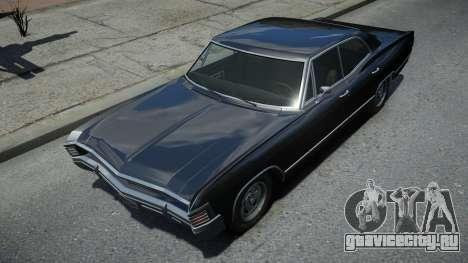 Declasse Impaler Super Sedan Supernatural для GTA 4