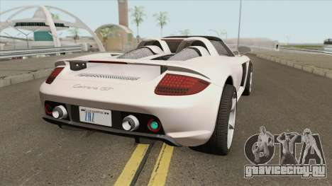 Porsche Carrera GT 2003 для GTA San Andreas
