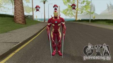 Iron Man Mark S Skin для GTA San Andreas