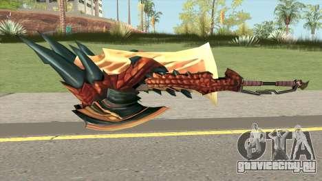 Monster Hunter Weapon V4 для GTA San Andreas