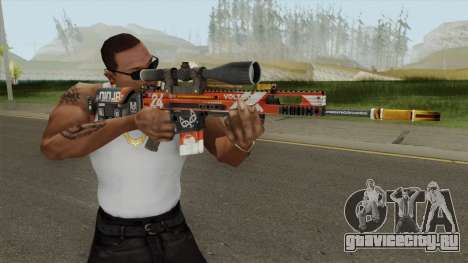 CS-GO SCAR-20 (Bloodsport Skin) для GTA San Andreas