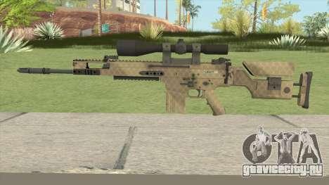CS-GO SCAR-20 (Sand Skin) для GTA San Andreas