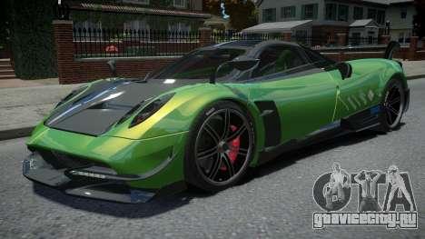 Pagani Huayra BC 2016 для GTA 4