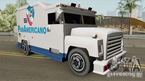Camion Panamericano (Securicar) SA Style для GTA San Andreas