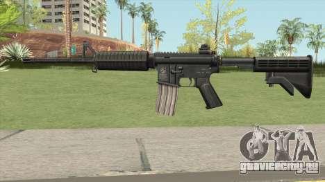 M4A1 HQ Skin GTA IV для GTA San Andreas