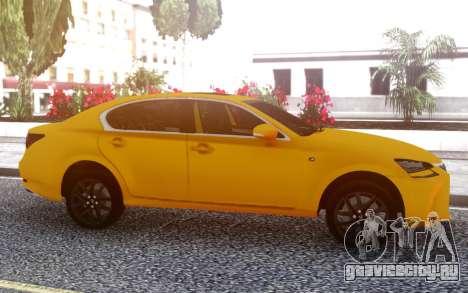 Lexus GS350 2018 для GTA San Andreas