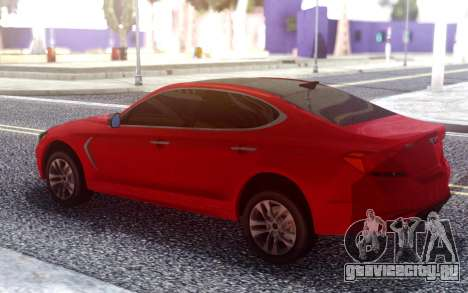 Genesis G70 2018 для GTA San Andreas