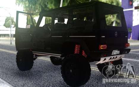 Mercedes-Benz G500 4х4 Black для GTA San Andreas