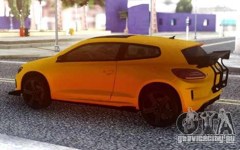 Volkswagen Scirocco GT Yellow для GTA San Andreas