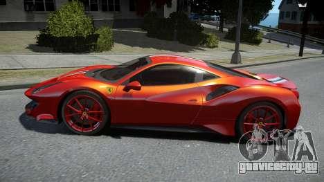 Ferrari 488 Pista 2019 для GTA 4