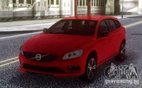 2015 Volvo V60 для GTA San Andreas