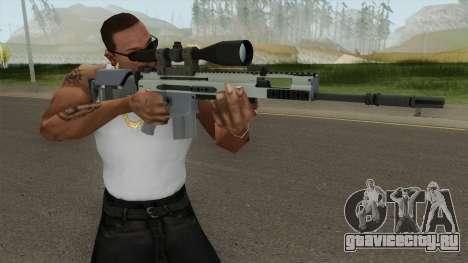 CS-GO SCAR-20 (Stormfront Skin) для GTA San Andreas