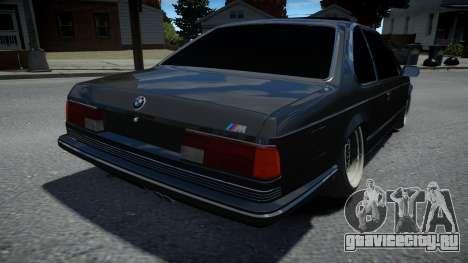 BMW M6 E24 1986 для GTA 4
