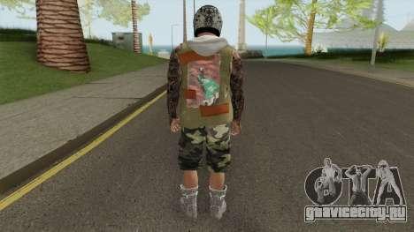 Skin Random 167 (Outfit Gunrunning) для GTA San Andreas