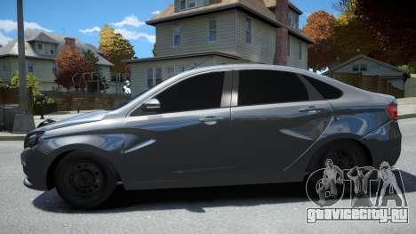 Lada Vesta для GTA 4