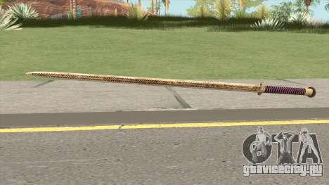 Gold Katana (Dynasty Han) для GTA San Andreas