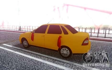 ВАЗ 2170 Битая для GTA San Andreas