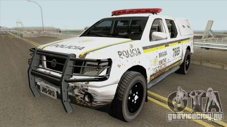 Nissan Frontier Brazilian Police (Dirty) для GTA San Andreas