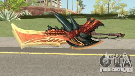 Monster Hunter Weapon V2 для GTA San Andreas