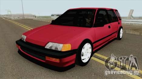 Honda Civic Wagon 1991 для GTA San Andreas