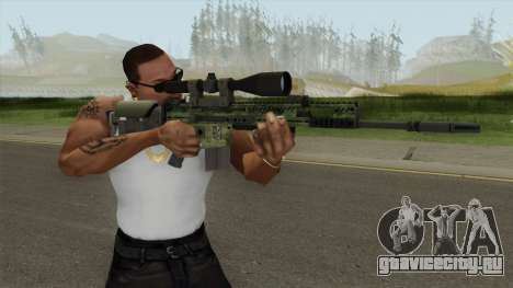 CS-GO SCAR-20 (Peacemaker Skin) для GTA San Andreas