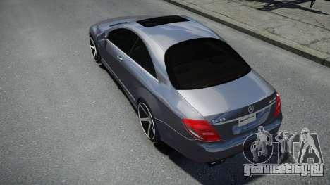 Mercedes-Benz CL 65 AMG для GTA 4