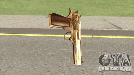 Desert Eagle Gold GTA IV для GTA San Andreas
