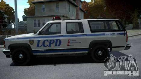 Declasse Granger Retro Police для GTA 4