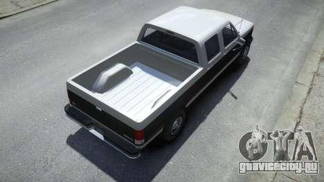 Vapid Sadler Sport Retro Crew Cab для GTA 4
