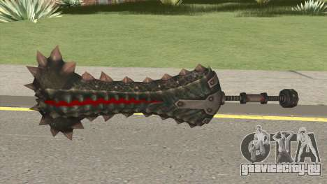 Monster Hunter Weapon V6 для GTA San Andreas