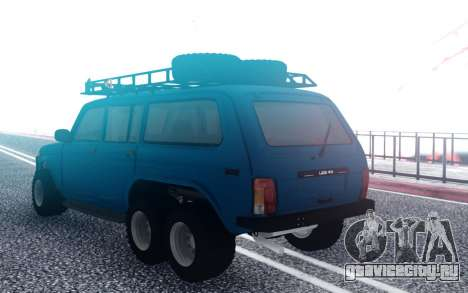 ВАЗ Нива 6х6 Оффроад для GTA San Andreas