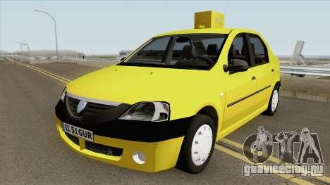 Dacia Logan Taxiul Lui Rata 2004 для GTA San Andreas