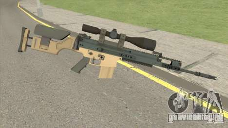 CS-GO SCAR-20 (PMC Skin) для GTA San Andreas