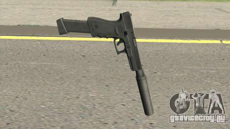 Contract Wars Glock 18 Extended Suppressed для GTA San Andreas