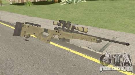 COD: Ghosts L115 Sniper для GTA San Andreas