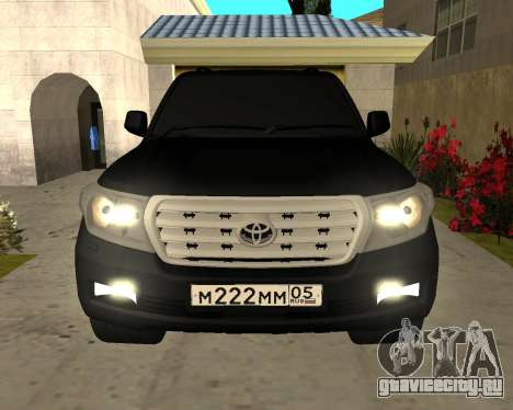 Toyota Land Cruiser 200 2008 для GTA San Andreas