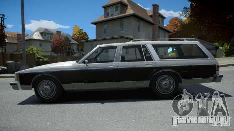Oldsmobile Custom Cruiser 1985 для GTA 4
