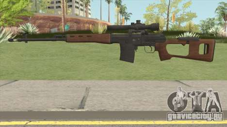 Battle Carnival SVD Dragunov для GTA San Andreas