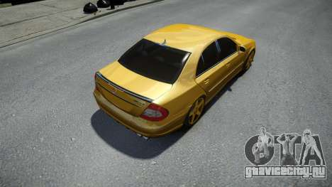 Mercedes-Benz E63 W211 AMG для GTA 4