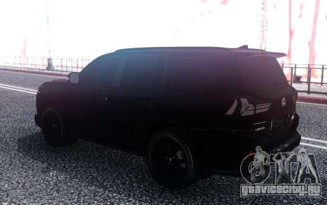 Lexus LX570 Superior Black Edition для GTA San Andreas