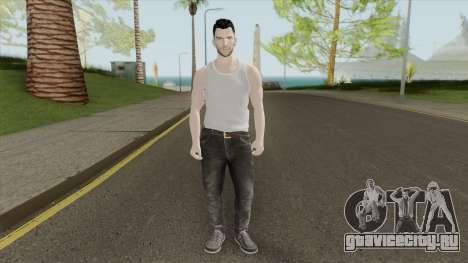 Adam Levine Beta Skin для GTA San Andreas