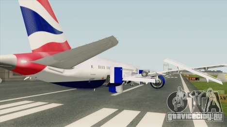 Boeing 787-8 Dreamliner (British Airlines) для GTA San Andreas