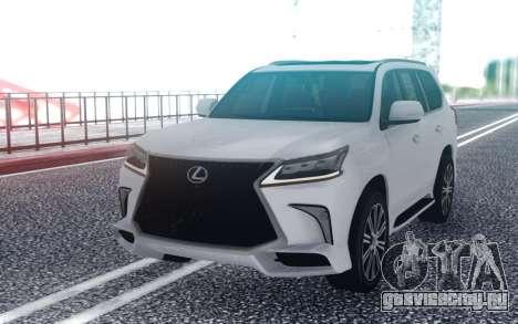 2017 Lexus LX для GTA San Andreas