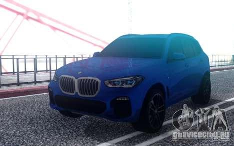 BMW X5 M-Sport G05 30d 2019 для GTA San Andreas