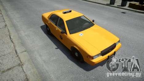 Vapid Stanier Modern Taxi для GTA 4